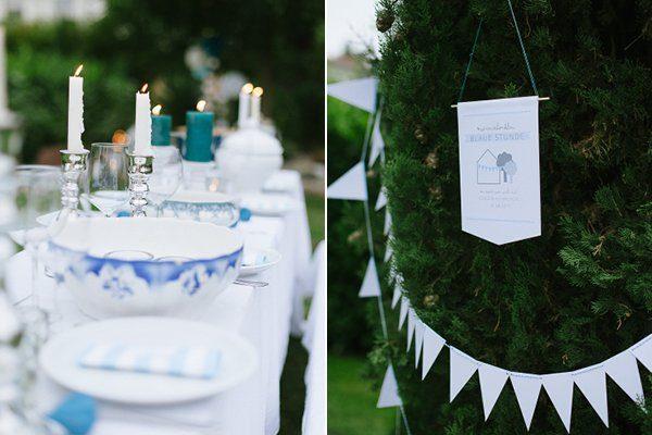 Tischdeko blau selbst gemacht Blogger Karlsruhe14