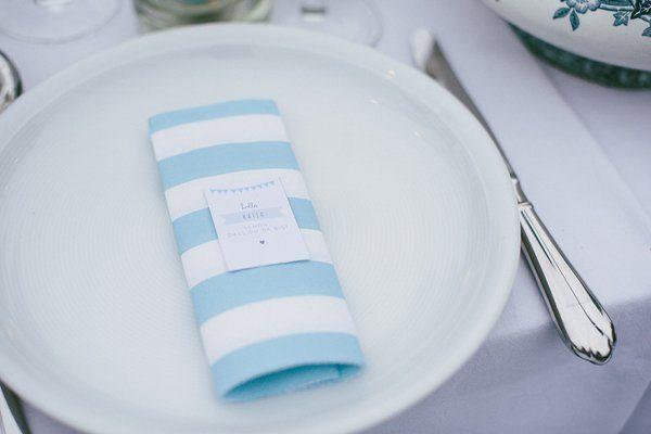 Tischdeko blau selbst gemacht Blogger Karlsruhe8