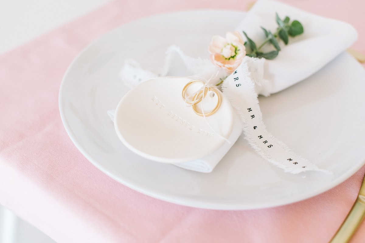 Tischdeko in Pastell Rosé Mint Vanille - Frl. K sagt Ja-46