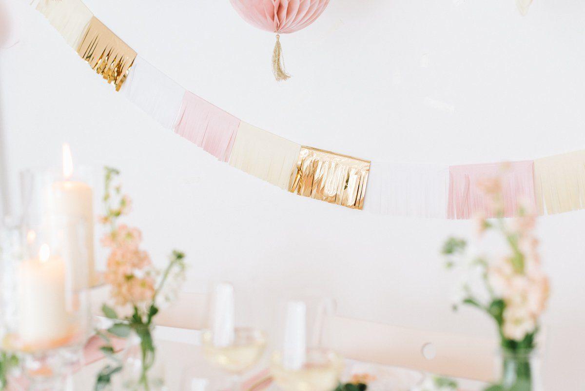 Tischdeko in Pastell Rosé Mint Vanille - Frl. K sagt Ja-48