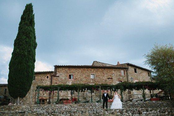 Irene & Sebastians Traum in der Toskana