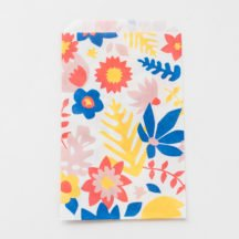 Tropical Flowers Teller Becher Serviette-10