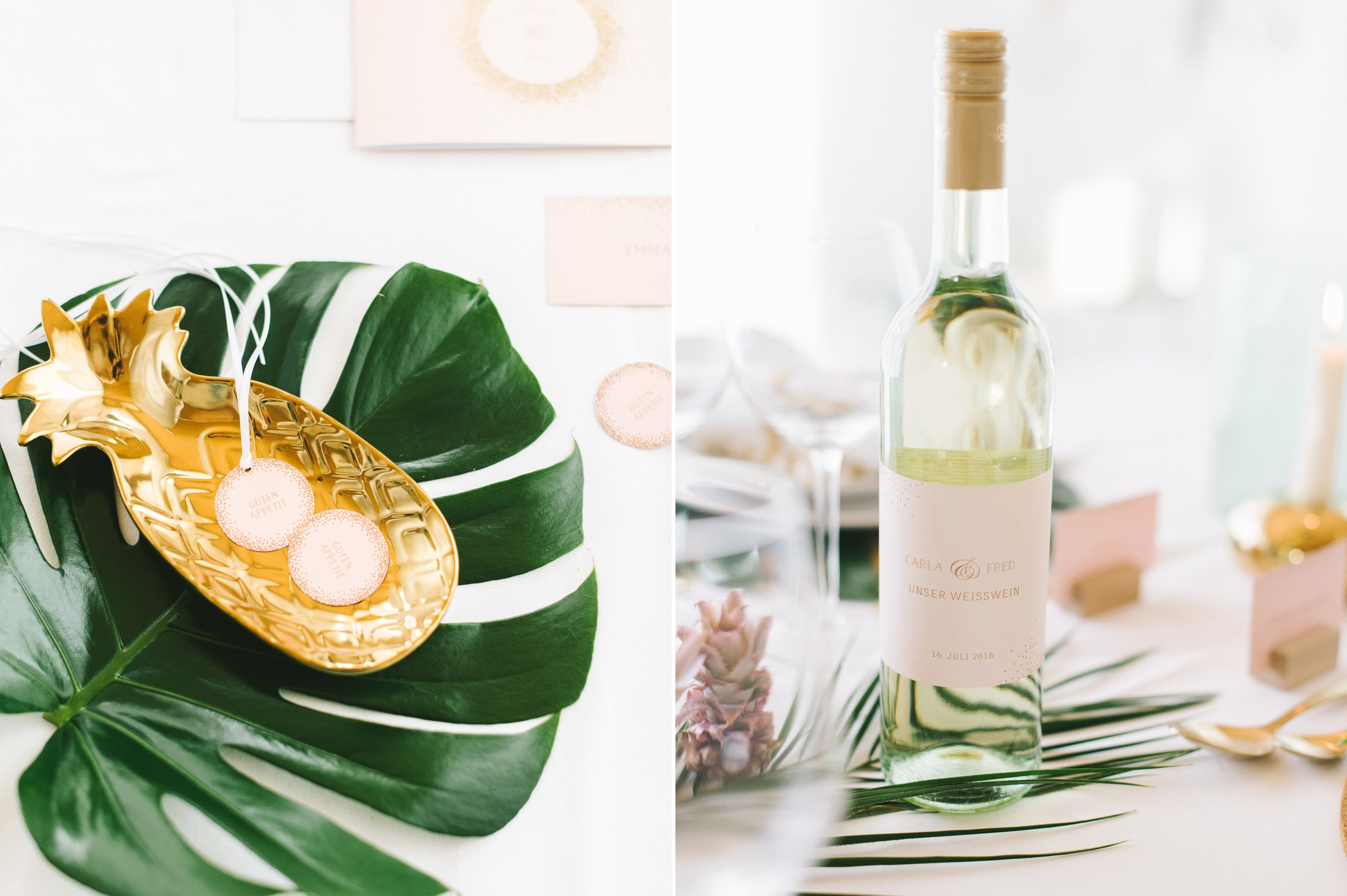 Tropical summer night Styled Shoot