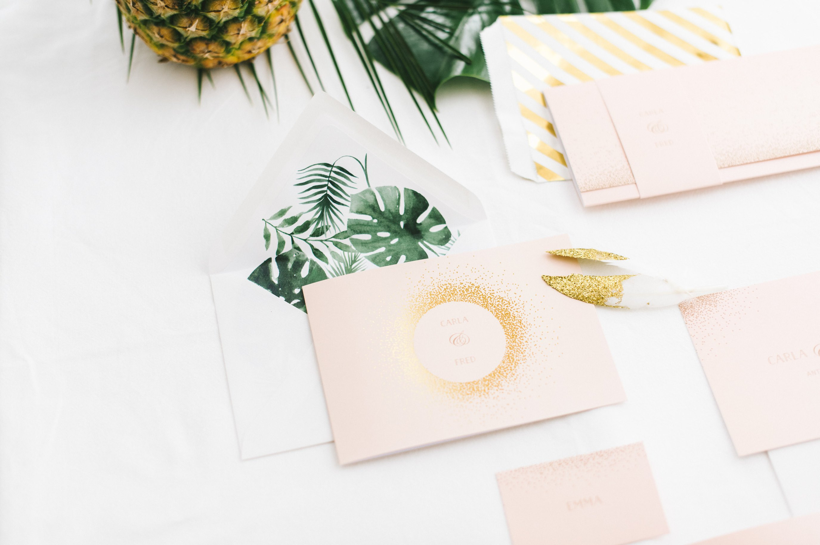 Tropical summer night Styled Shoot 2