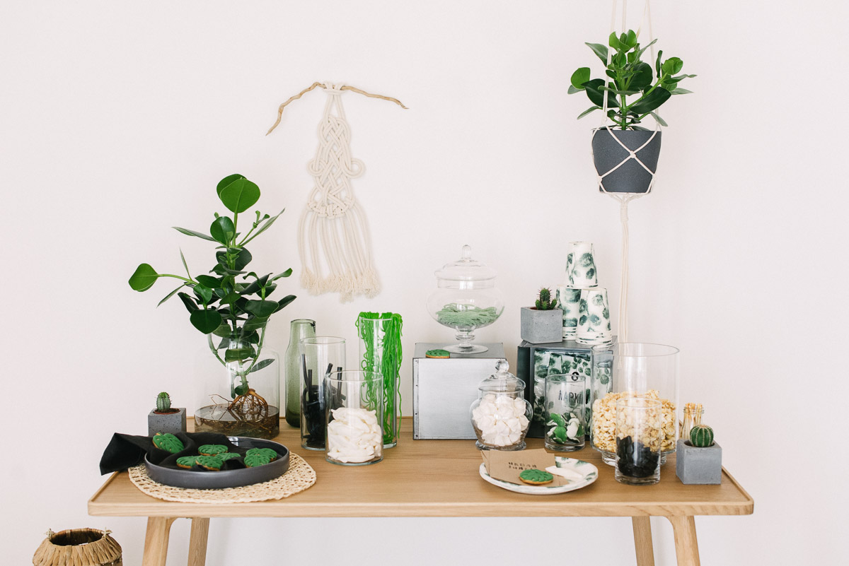 DIY Candy Bar Urban Jungle