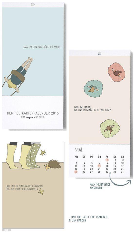 Uupsa postkartenkalender-2015