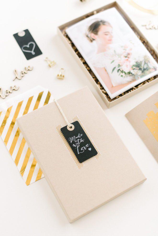 Ideen zum Hochzeitsfotos Verschenken