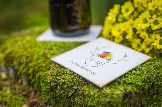 Wald und Jagt Papeterie Hochzeit8