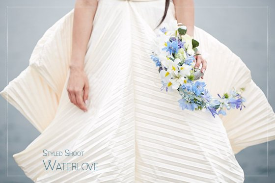 Von Aquamarin bis Azurblau – Das Waterlove Hochzeitskonzept