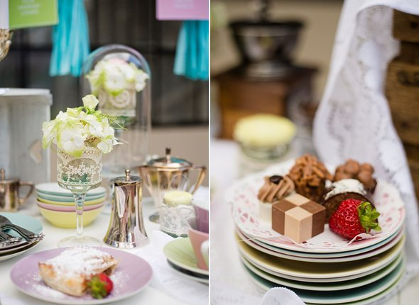Wedding styled shoot with icecream, macarons and beautiful table setting9