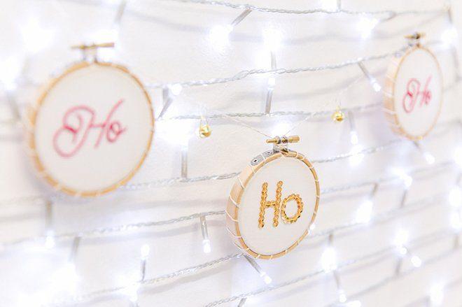 Weihnachten 2015 Dekoration gold lila pink9