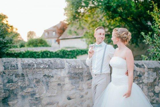 Ein bisschen Mint, ein Brise Romantik, ein Hauch Vintage, fertig ist die zauberhafte Hochzeit!