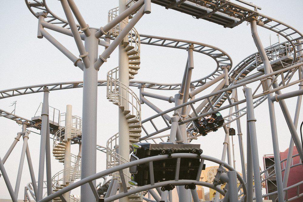 Dubai Parks Achterbahn