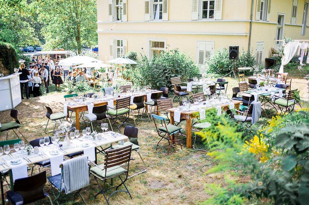Location Gartenhochzeit Vintage