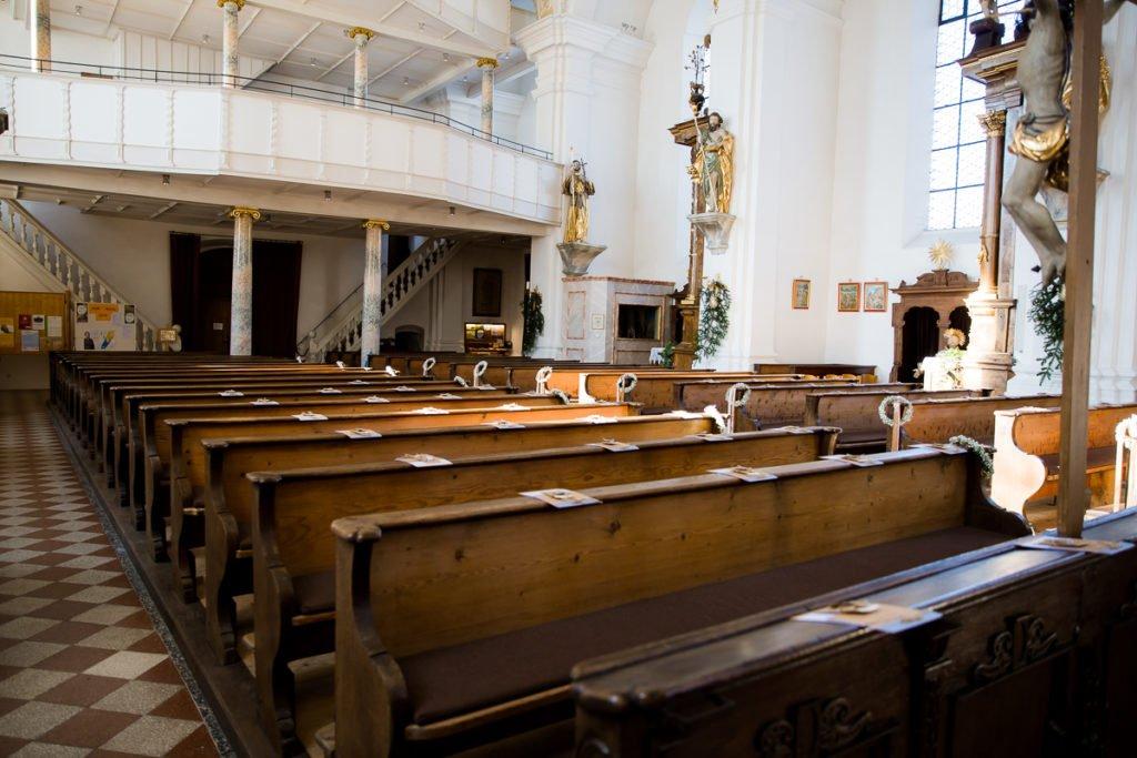 Kirche Winterhochzeit