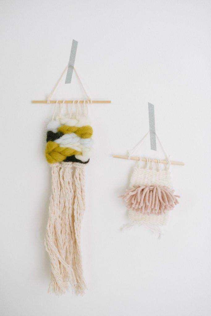 Mini Wandbehang gewebt