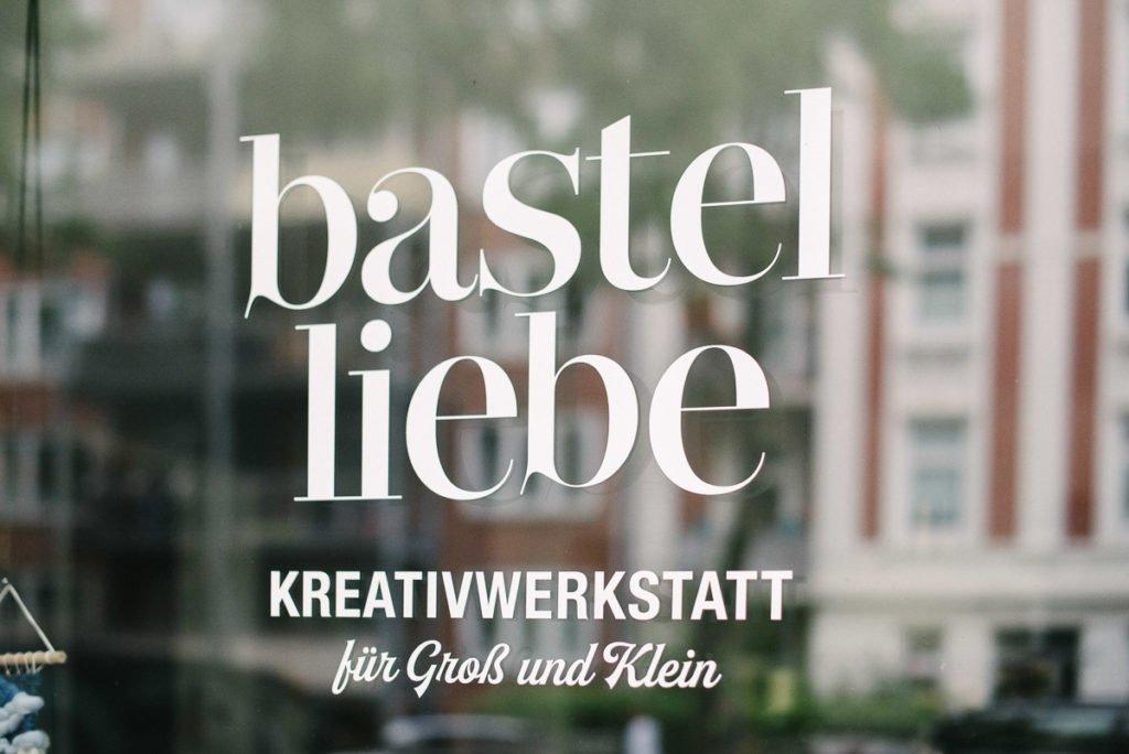Schaufenster Bastelliebe Hamburg