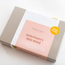 Dekoration Babyparty Box modern
