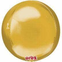 Ballonkugel rund Gold
