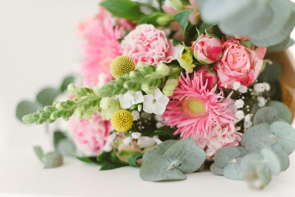 Sommerglück Blumenstrauß