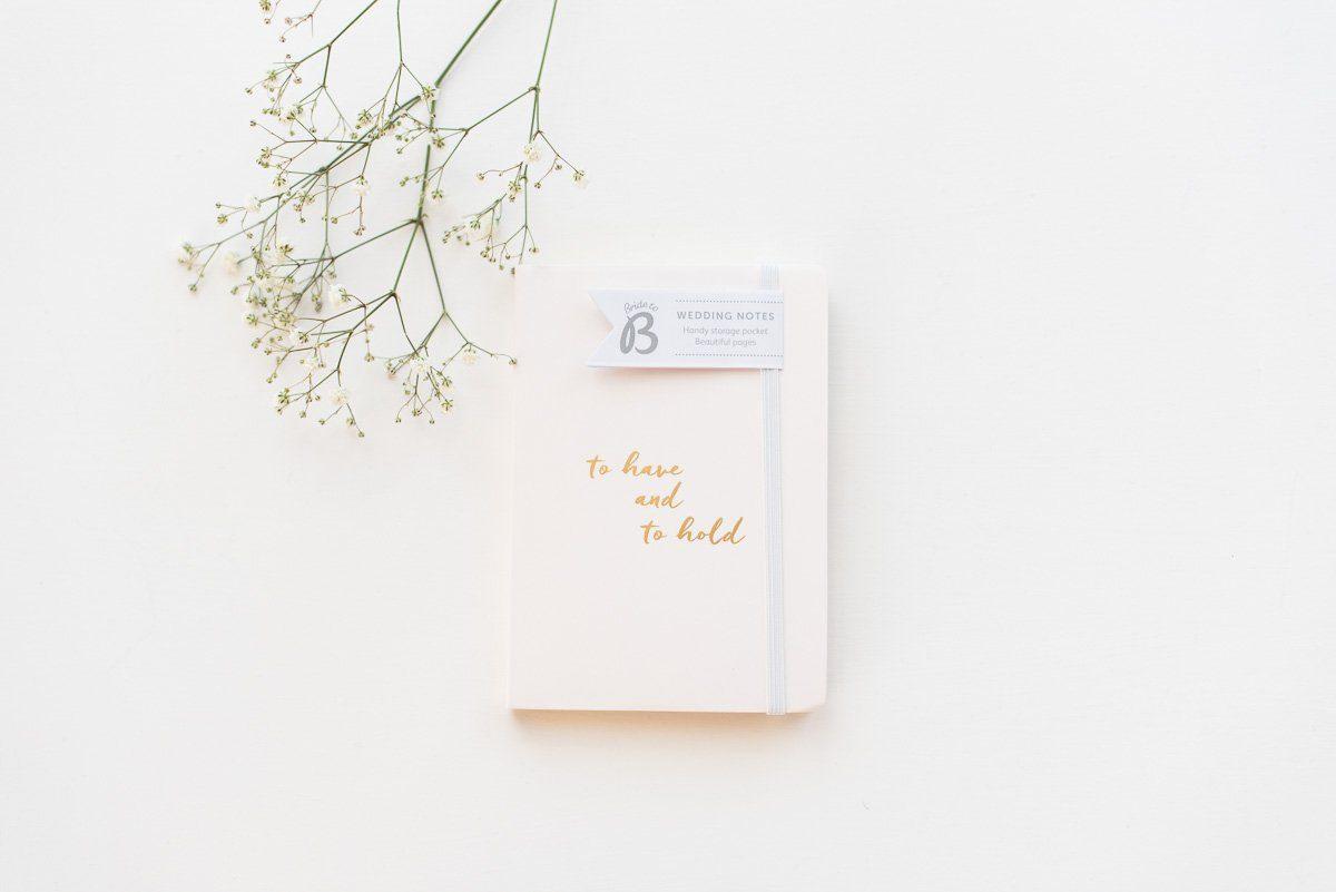 Notizbuch für die Hochzei