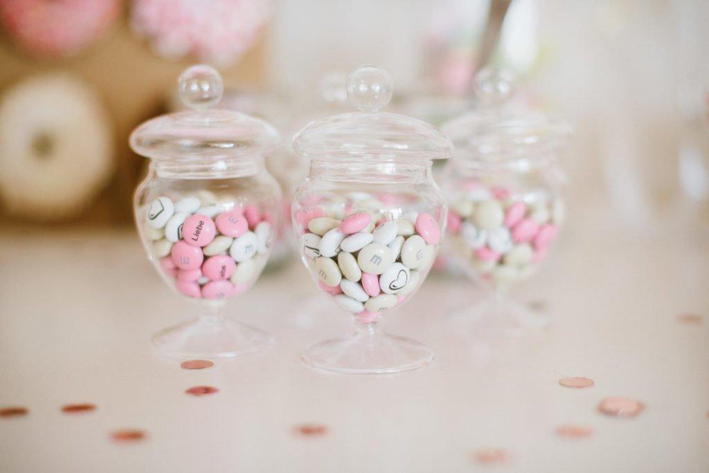 Mini Bonbonieren mit M&ms