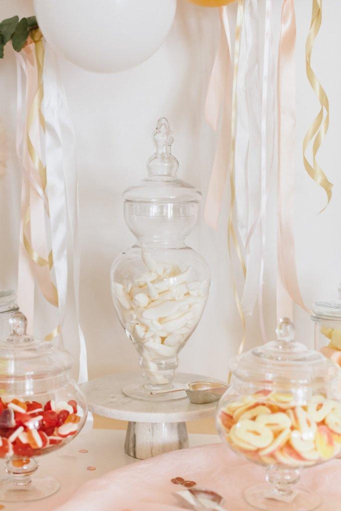 Glas für Candybar
