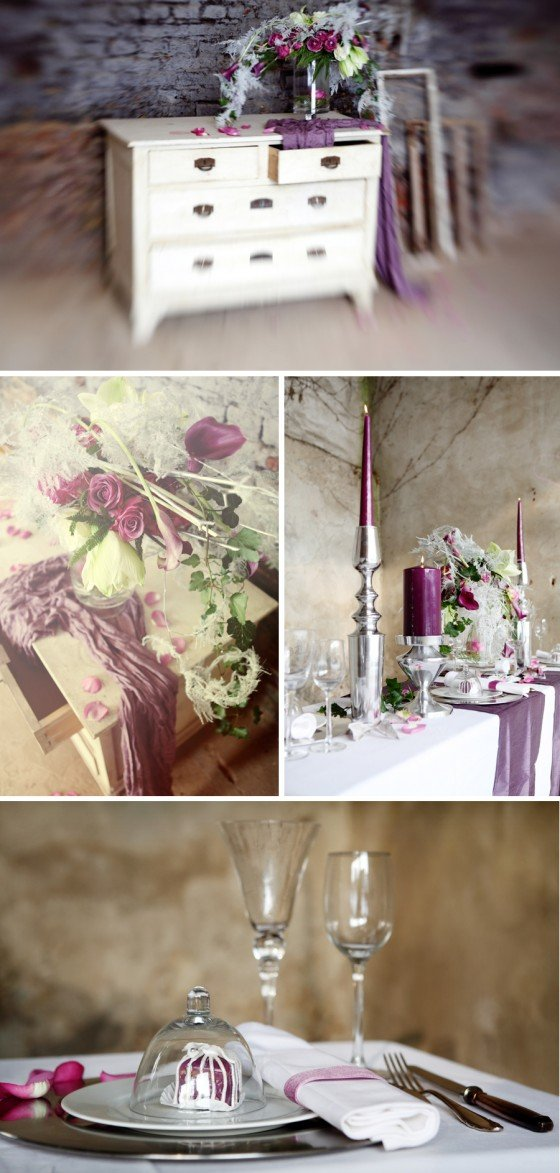 Ein paar Ideen zu einer winterlichen Hochzeitsdeko