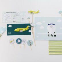 Geburtstagsbox Flugzeuge