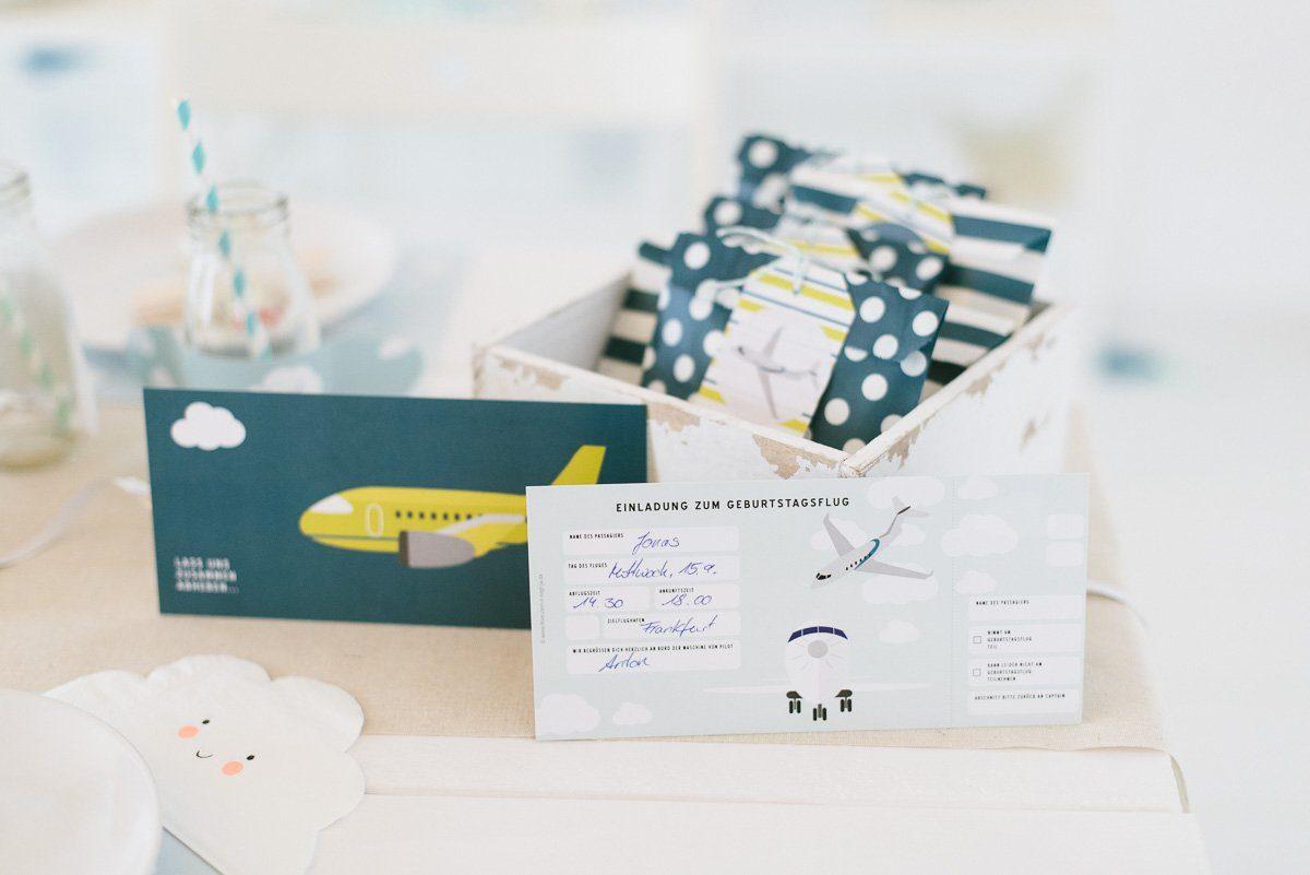 Neu im Fräulein K sagt Ja Shop: Die Flugzeuge Geburtstagsbox