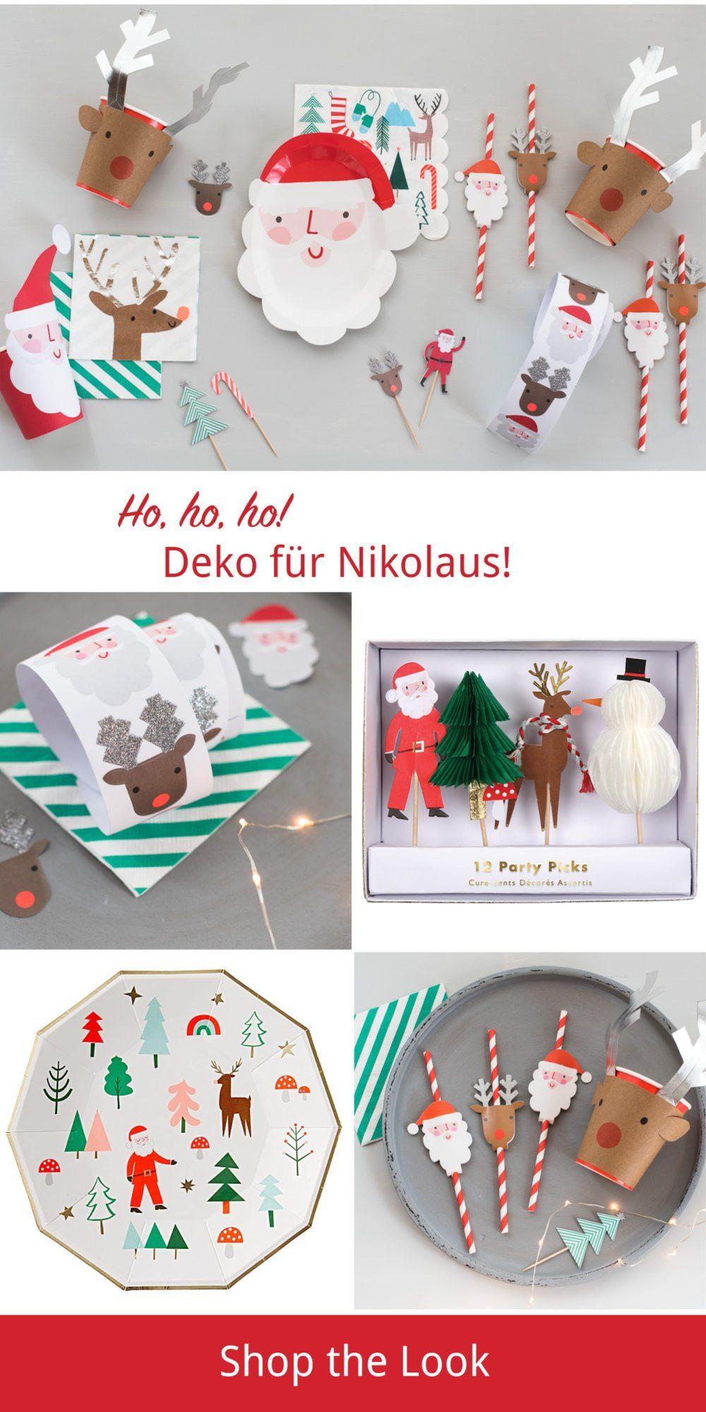 dekoration nikolaus party hochzeitsblog fr ulein k sagt. Black Bedroom Furniture Sets. Home Design Ideas