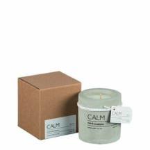 Duftkerze Calm, erfrischender Duft nach Minze und Eukalyptus