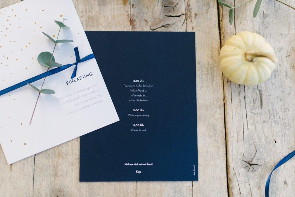 Einladung Papeterie Rosemood.de