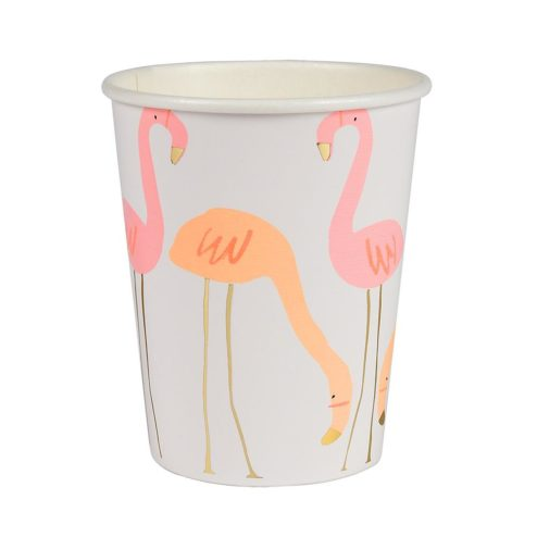 Becher Flamingoparty