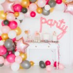 Anleitung DIY Luftballon Girlande Party