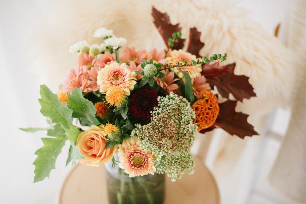 Herbstblumen Details