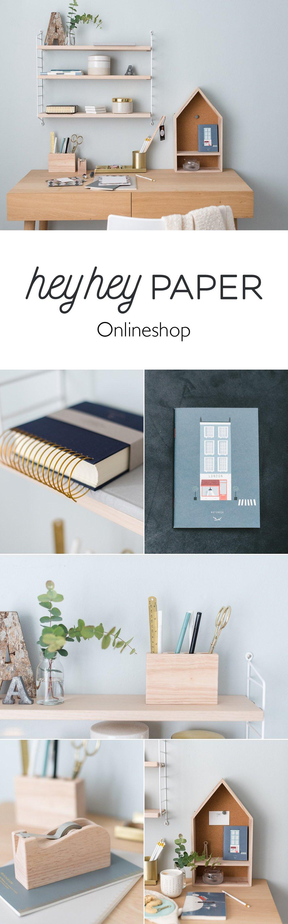 Onlineshop für Notizbücher, Stifte und Bürobedarf