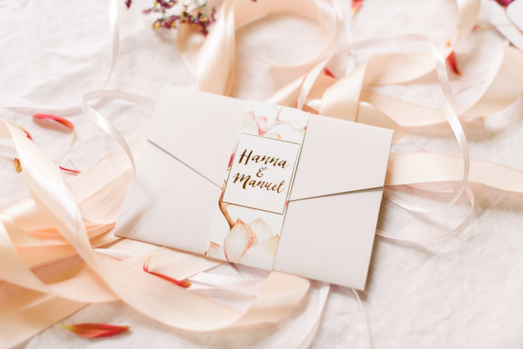Einladung Hochzeit Rosegold