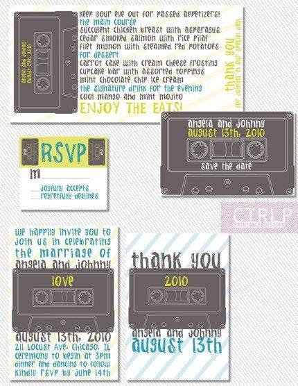 verdammt coole einladungskarten zum selberdrucken - hochzeitsblog, Einladungsentwurf