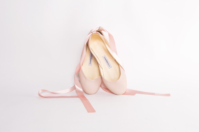 Weiche Ballerinas für die Hochzeit