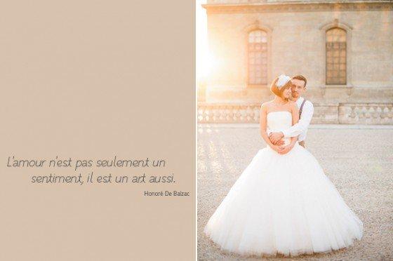 Toujour l'amour… Brautkleidinspiration in Paris