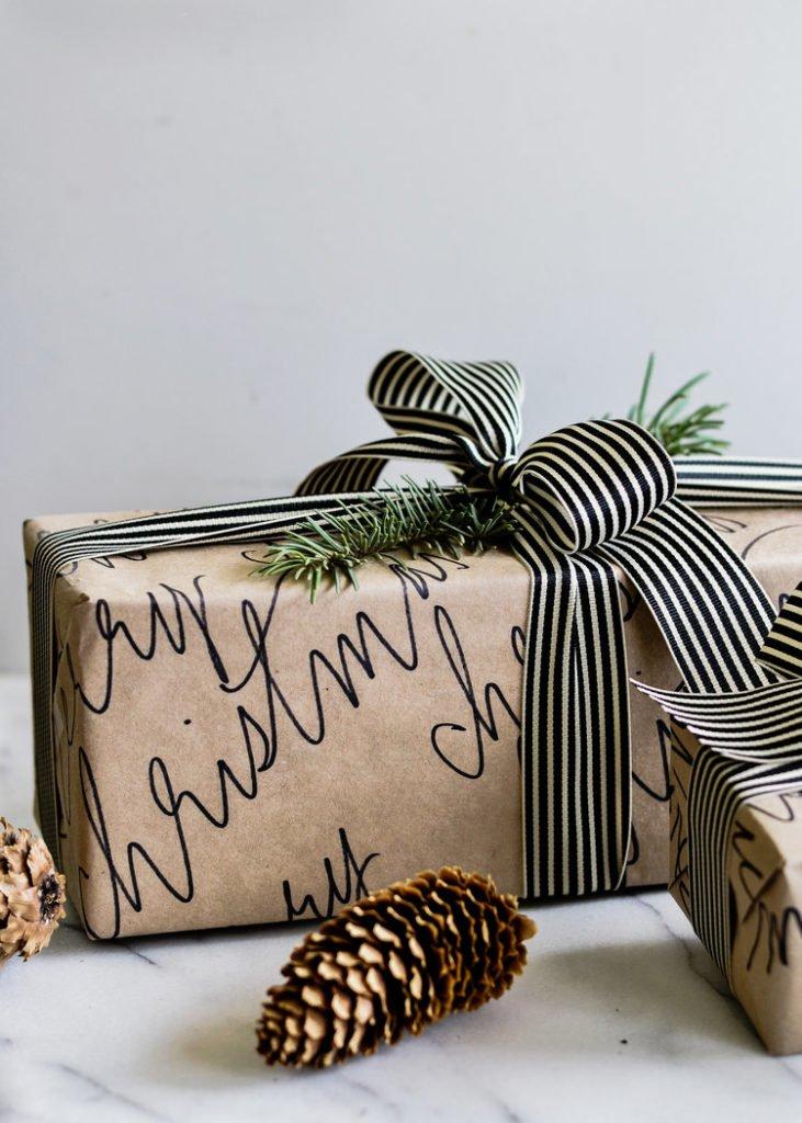 Kalligraphie Geschenkverpackung