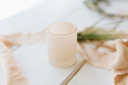 Glas für Teelichter