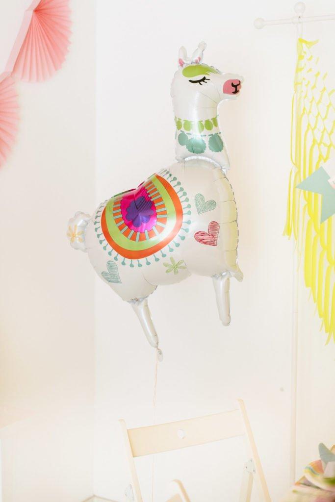 Lama Luftballon
