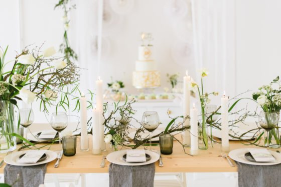 Dekoration Hochzeit Frühling Blumen