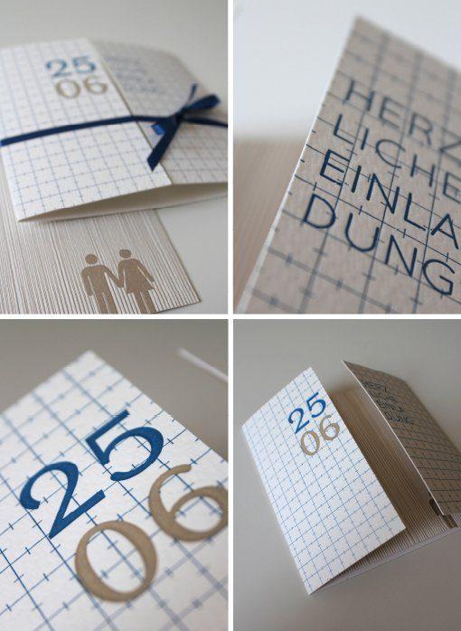 Traumhafte Einladungskarten im Letterpress Verfahren