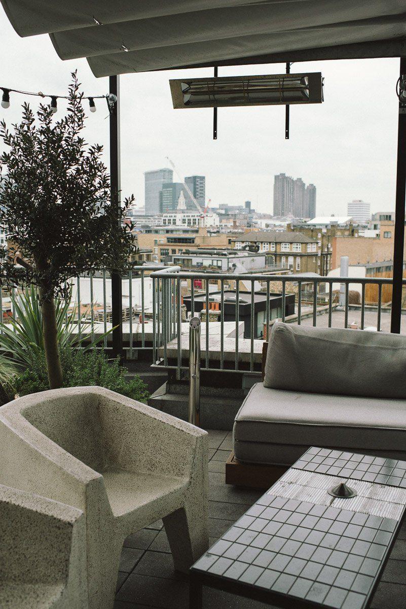 Balkon ACE Hotel London