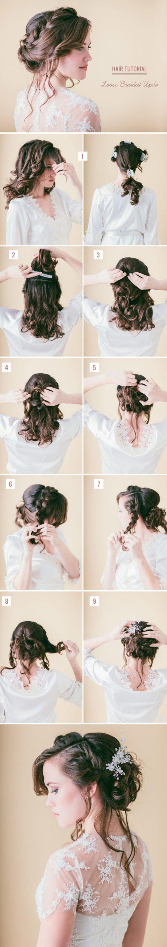 DIY Flechtfrisuren für Eure Brautjungfern