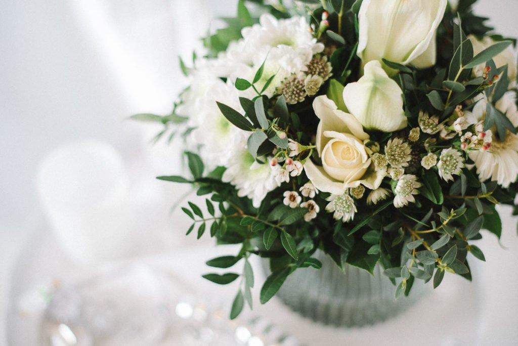 Blumenstrauß weiß Blume2000