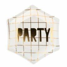 Pappteller Party klein, 6 Stück